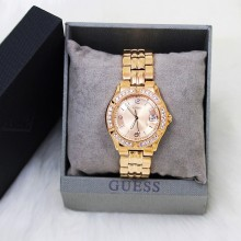 Guess U11069L1 Dazzling Crystal Women Rose Gold Watch