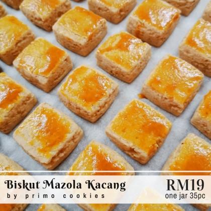 Primo Cookies Homemade Biskut Mazola Kacang