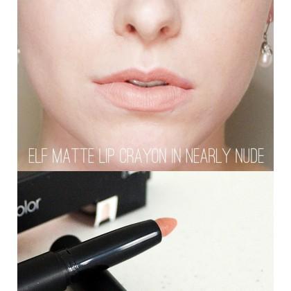 ELF Matte Lip Color Nearly Nude Lipstick