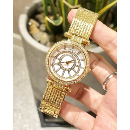 Guess U1008L2 Sparkling Stainless Steel Gold Watch