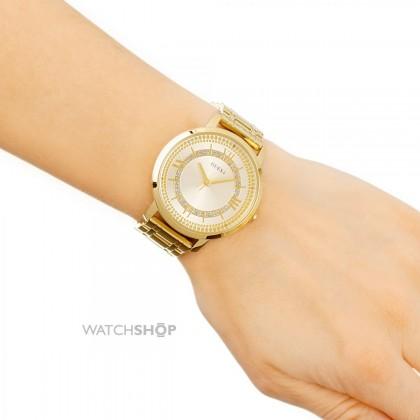 Guess U0933L2 Dressy Classic Gold Watch