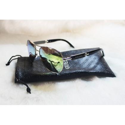 Guess Aviator Mirror Black Sunglasses GU7295