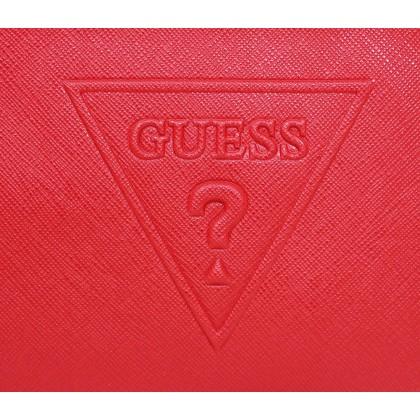 Guess Peak Large Wristlet Red