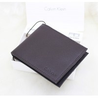 Calvin Klein RFID Bookfold Men Wallet Dark Brown