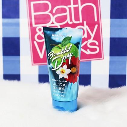 Bath & Body Works Travel Beautiful Day Mist Body Cream 2pc Set
