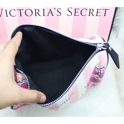 Victoria's Secret Floral Rectangular Cosmetic Case