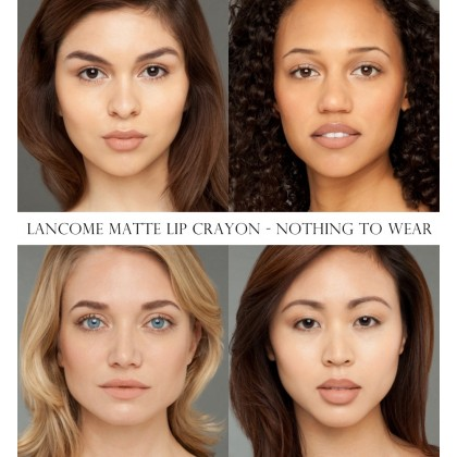 Lancome Matte Crayon Lipstick Nothing To Wear