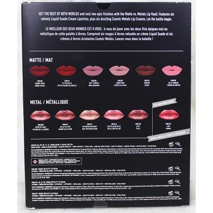 NYX Matte VS Metals Lip Cream 12pc Vault Set